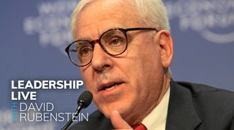 Assistir Leadership Live With David Rubenstein todos episódios no Bloomberg 19/09/2020 às 23:00