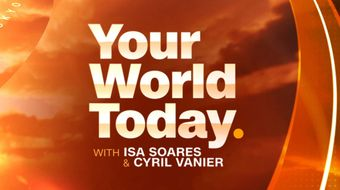 Assistir Your World Today With Isa Soares And Cyril Vanier with World Sport todos episódios no CNN International 21/10/2020 às 19:00
