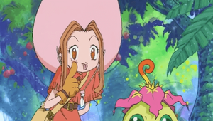 Assistir episódio 10 da 1 (Kentarumon, o Guardião!) temporada de Digimon Adventure online