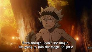 Assistir episódio 3 da 1 (Para a Capital Real do Reino Clover!) temporada de Black Clover online
